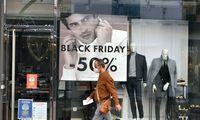 """Prekybos duomenys: """"Juodasis penktadienis"""" persikėlė į internetą"""