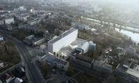 Panevėžio statybos trestas gavo užsakymą statyti S. Eidrigevičiaus menų centrą