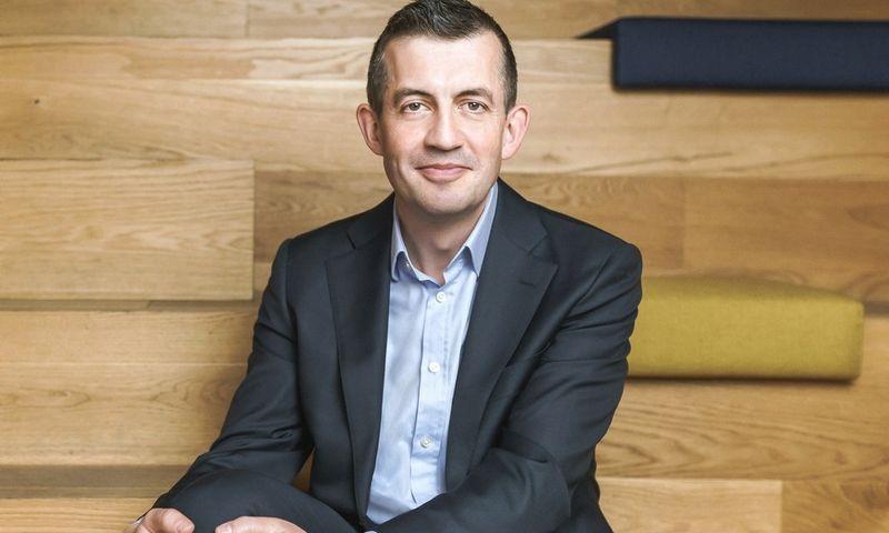 """""""Swedbank"""" Lietuvoje Finansų tarnybos vadovas Remy Salters."""