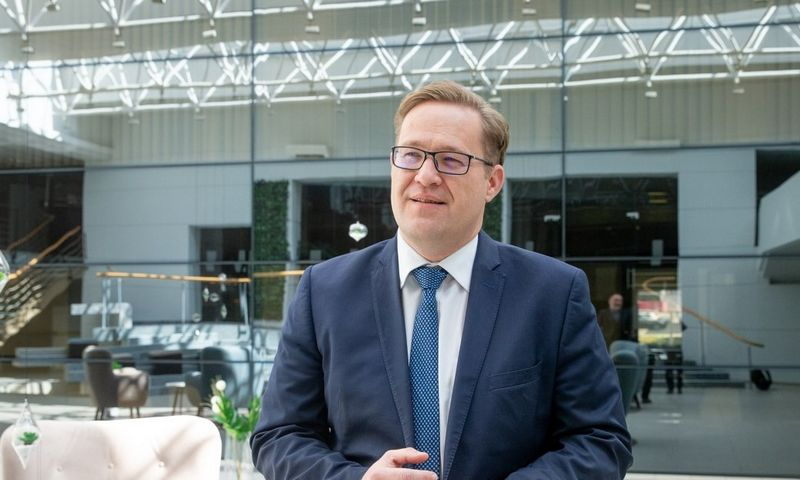 Aurimas Želvys, Lietuvos verslo paramos agentūros (LVPA) direktorius.
