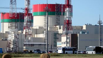 Astravo AE pirmasis reaktorius sustabdytas