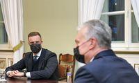 G. Landsbergio kandidatūros vertinimą prezidentas išsakys tiesiogiai premjerei
