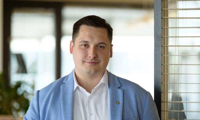 """Steponas Matas Einikis, """"Lidl Lietuva"""" valdybos narys. Įmonės nuotr."""