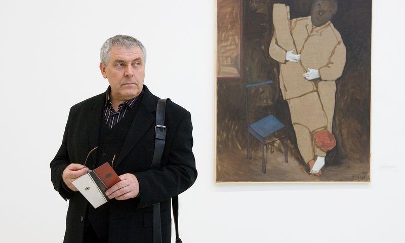 Dailininkas, grafikas Stasys Eidrigevičius. Juditos Grigelytės (VŽ) nuotr.