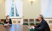 G. Nausėdai paliko neblogą įspūdį kandidatė į vidaus reikalų ministres