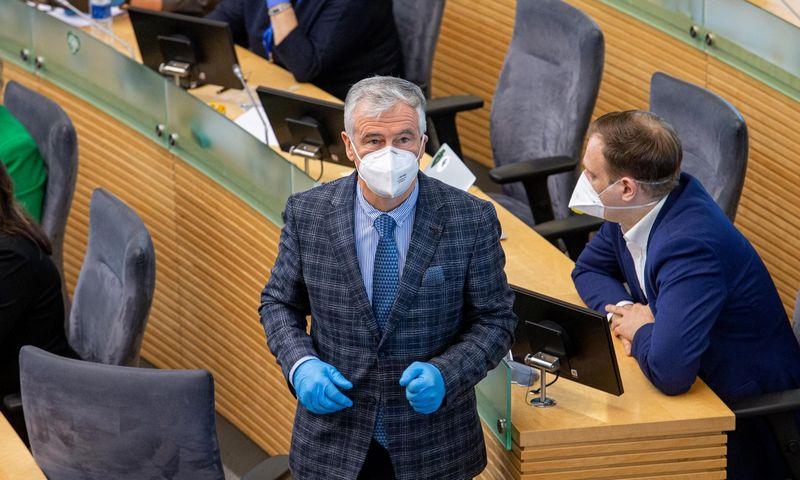 Seimo narys Jonas Jarutis. Juditos Grigelytės (VŽ) nuotr.
