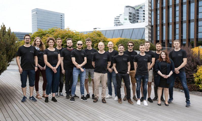 CAST AI komanda. Bendrovės nuotr.