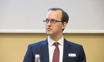 Susisiekimo ministru siūlomas Marius Skuodis