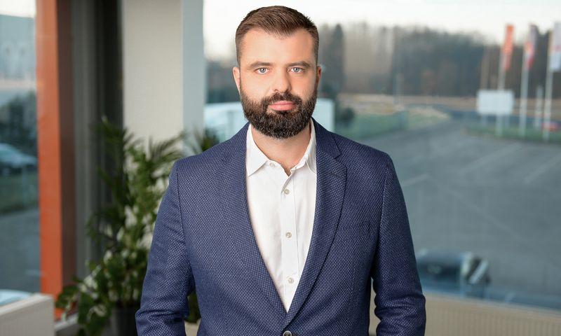"""Marius Giedraitis tapo nauju """"Autokurto"""" vadovu. Įmonės nuotr."""