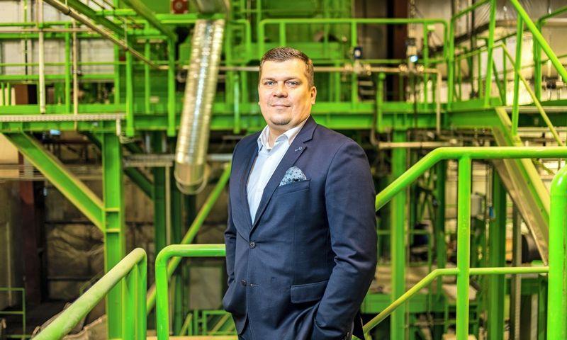 """Darius Valeika, UAB """"EMP recycling""""generalinis direktorius."""