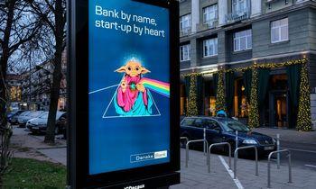 """""""Danske Bank"""" reklama su Joda: drąsu, bet žaidžiama ties plona riba"""