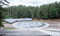 Atnaujinamas Kalnų parko Dainų slėnis