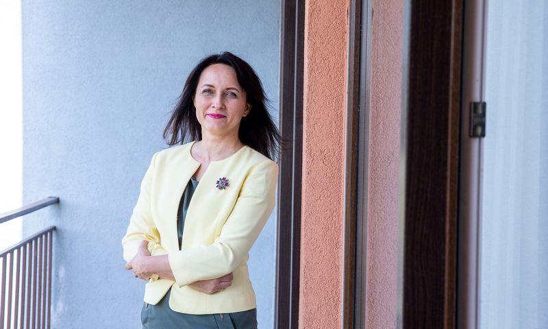 Daiva Čibirienė, Lietuvos buhalterių ir auditorių asociacijos prezidentė. Juditos Grigelytės (VŽ) nuotr.