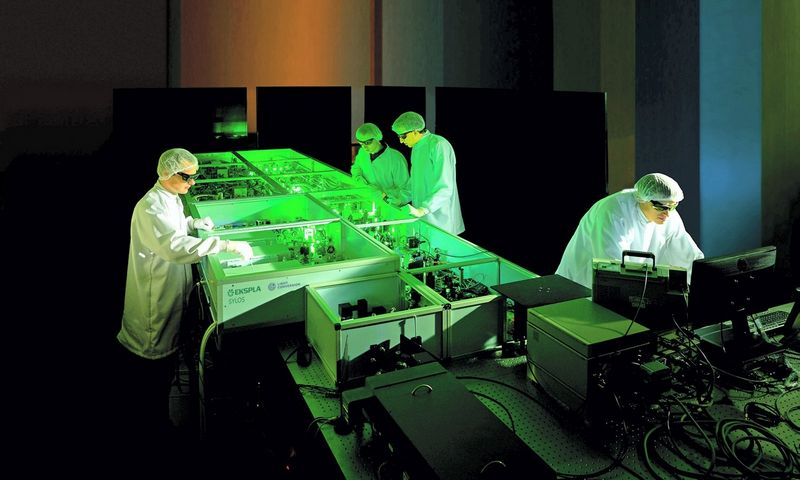 """SYLOS"" sistema, kuri ELI-ALPS tyrimų centre įdiegta pernai. ""Eklsplos"" nuotr."