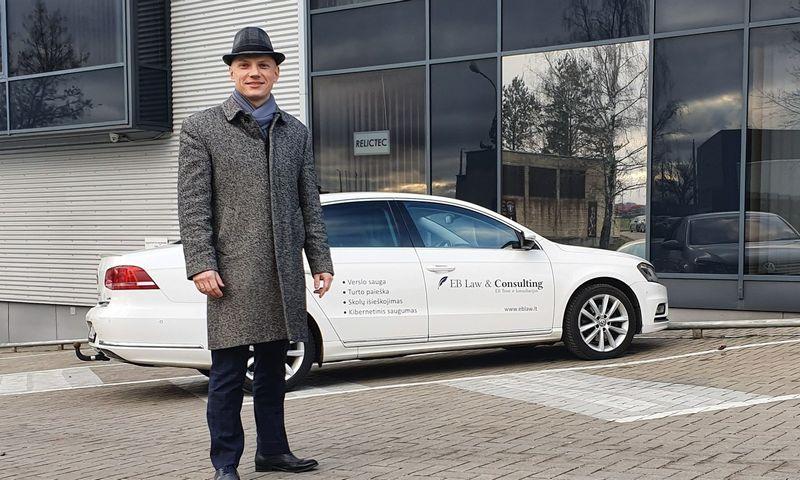 """Andrej Voinilko, teisinių paslaugų ir konsultavimo UAB """"EB teisė ir konsultacijos"""" direktorius."""