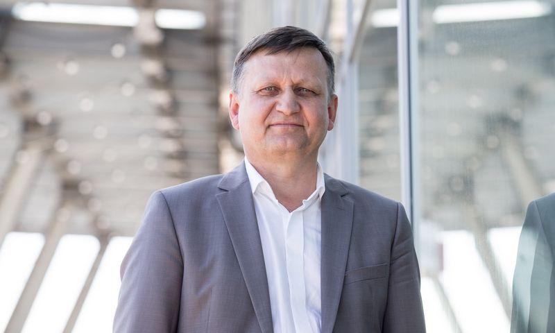 """Gintaras Rutkauskas, bendrovės """"Delano"""" vykdomasis direktorius. Juditos Grigelytės (VŽ) nuotr."""