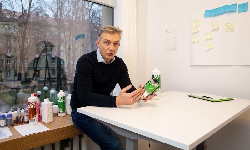 """Redžinaldas Mickus, UAB """"Greenlab Solutions"""" generalinis direktorius. Vladimiro Ivanovo (VŽ) nuotr."""