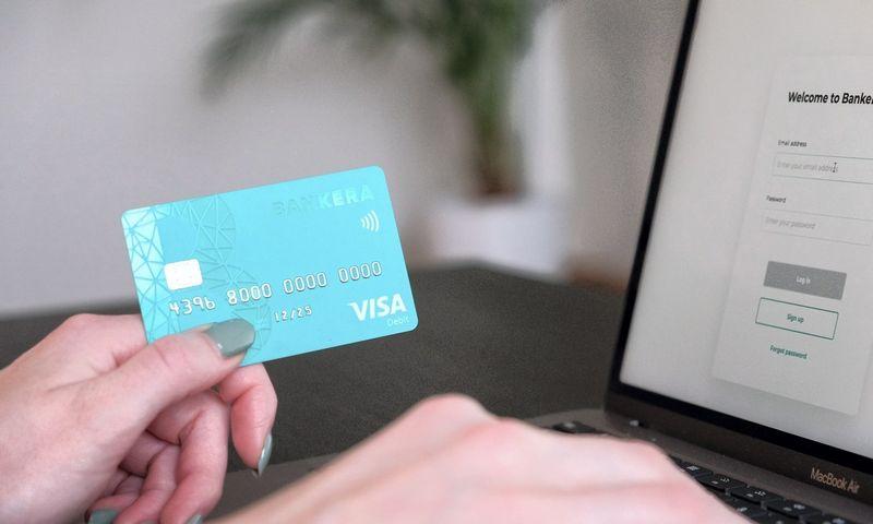 Pildyk Papildymas Internetu - Atsiskaitymo kortele aparatai