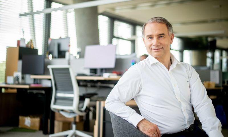"""Petras Masiulis, """"Tele2"""" generalainis direktorius Baltijos šalims: """"Įmonė, pirmiausia, yra darbuotojai. Laisvė ir atsakomybė, kurią suteikiame darbuotojams, yra didžiausia motyvacijos priemonė."""""""