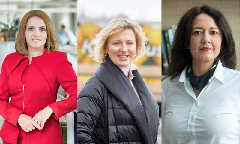 Vilma Drulienė, Nijolė Kvietkauskaitė ir Kristina Meidė. VŽ koliažas.