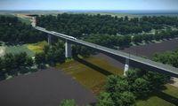 """LTG Infra"" ieško rangovo""Rail Balticos"" tiltui per Nerį"