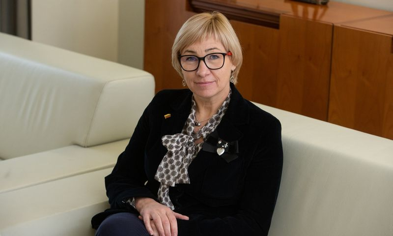 Jurgita Šiugždinienė, švietimo, mokslo ir sporto ministrė. Vladimiro Ivanovo (VŽ) nuotr.