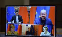 ES ir Kinijos suderėtam susitarimui dėl investicijų Lietuva pritars tik su viena sąlyga