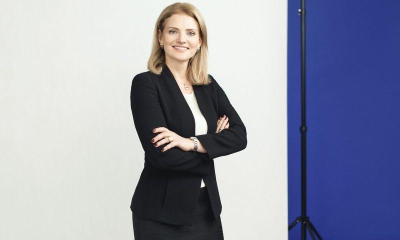 """Teisės firmos """"Sorainen"""" administracijos vadovė Leda Iržikevičienė."""