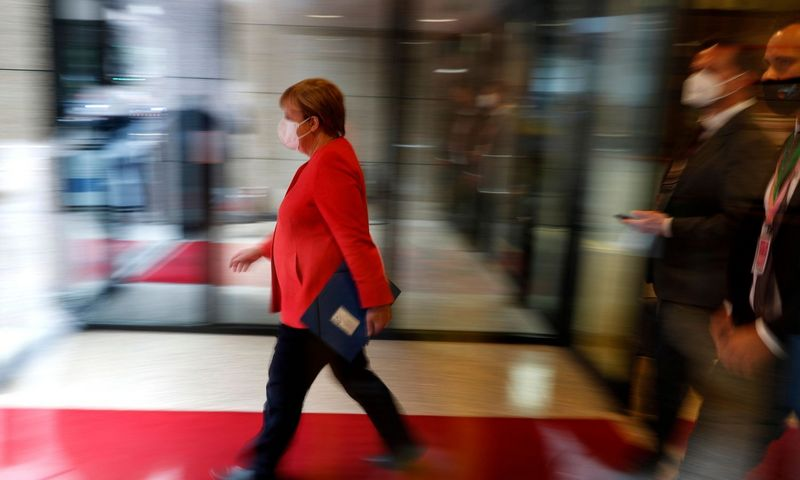 "Angela Merkel, Vokietijos kanclerė.  Francisco Seco (AFP / ""Scanpix"") nuotr."