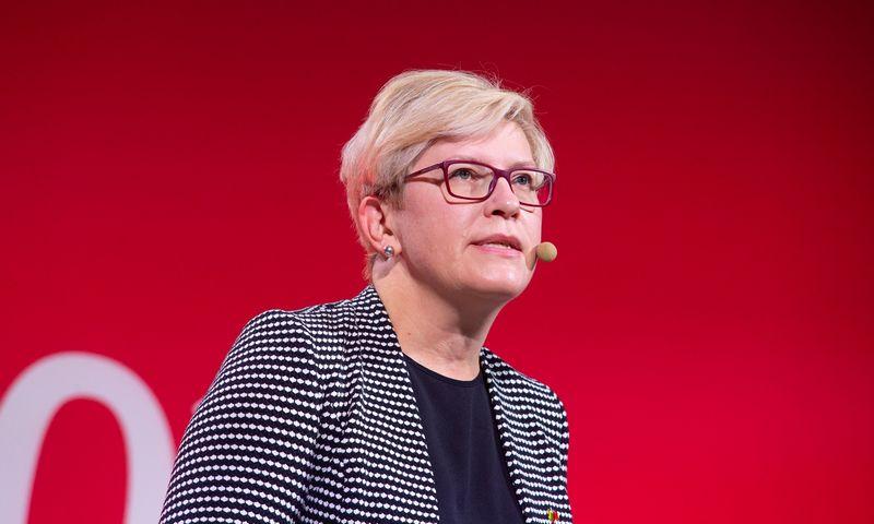 Ingridos Šimonytės komandą papildė dar keturi patarėjai. Juditos Grigelytės (VŽ) nuotr.