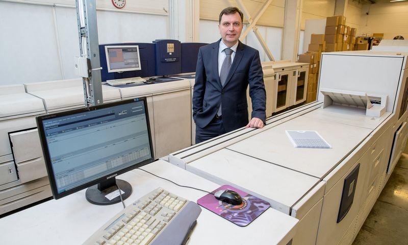 """Audrius Kirklys, """"Unifiedpost Group"""" (UAB """"Fitek LT"""") generalinis direktorius Lietuvoje. Vladimiro Ivanovo (VŽ) nuotr."""