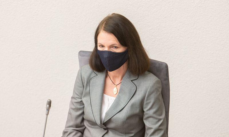 Inga Žilienė, Valstybinės energetikos reguliavimo tarybos pirmininkė. Juditos Grigelytės (VŽ) nuotr.