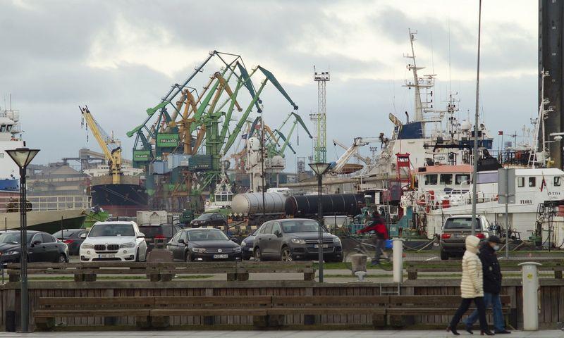 Klaipėdos uostas pasiekė naują krovos rekordą. Algimanto Kalvaičio nuotr.