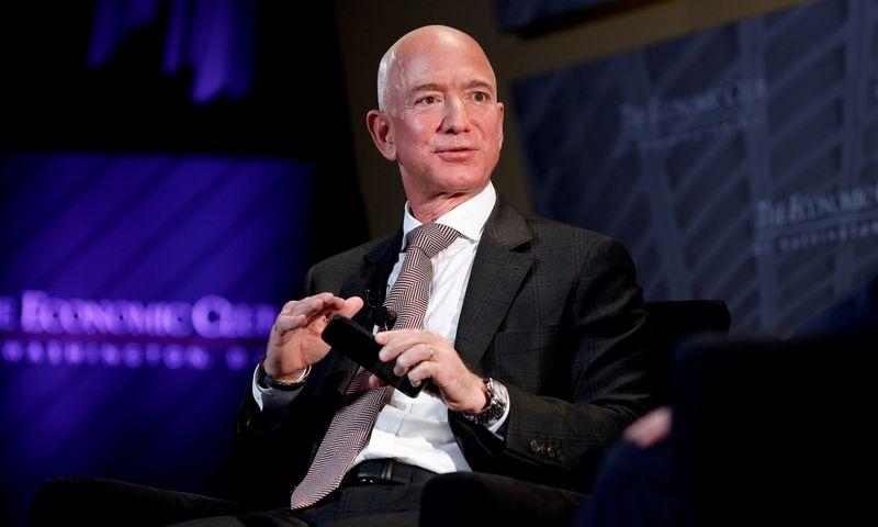 """Jeffas Bezosas, """"Amazon"""" CEO, kovai su klimato kaita 2020 m. pažadėjo 10 mlrd. USD. """"Scanpix"""" nuotr."""