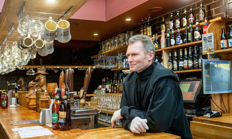 """Audrius Vidžys, alaus restorano """"Alaus namai"""" bendraturtis ir vadovas. Juditos Grigelytės (VŽ) nuotr."""