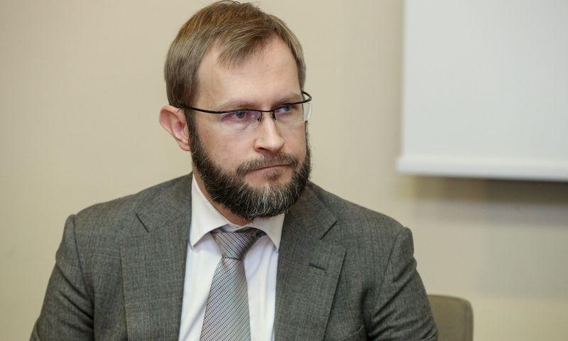 """Marijus Kalesinskas, """"Genus Family Office"""" partneris.  Vladimiro Ivanovo (VŽ) nuotr."""