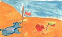Prieš 30 metų: Sausio 13-oji to laikmečio vaikų piešiniuose