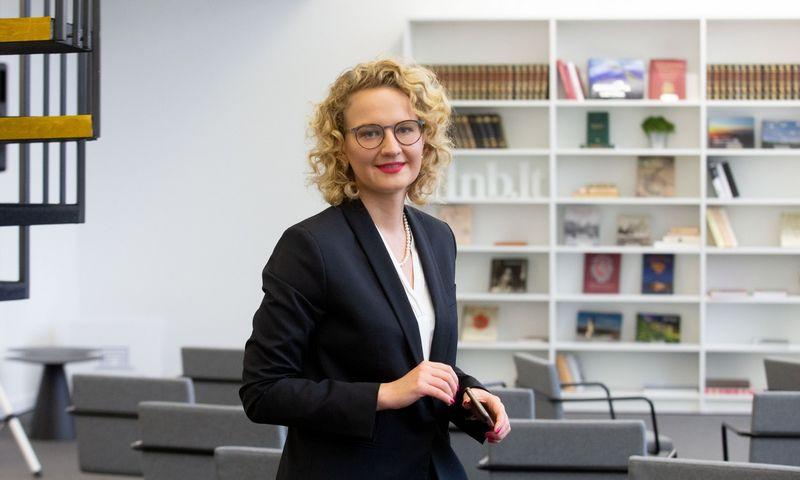 Aušrinė Armonaitė, ekonomikos ir inovacijų ministrė. Juditos Grigelytės (VŽ) nuotr.