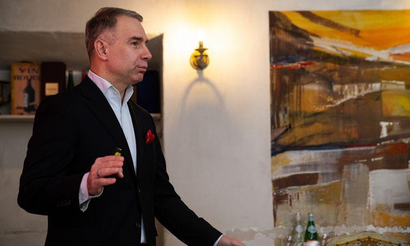 """Petras Masiulis, """"Tele2"""" vadovas Baltijos šalims. Vladimiro Ivanovo (VŽ) nuotr."""