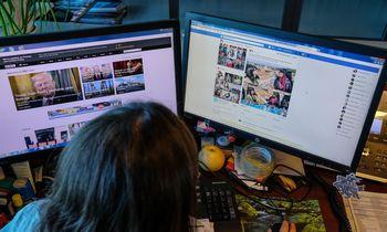 Socialiniai tinklai išryškino atotrūkį tarp kartų