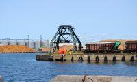 Liepojos uoste – 10% mažėjusi krova