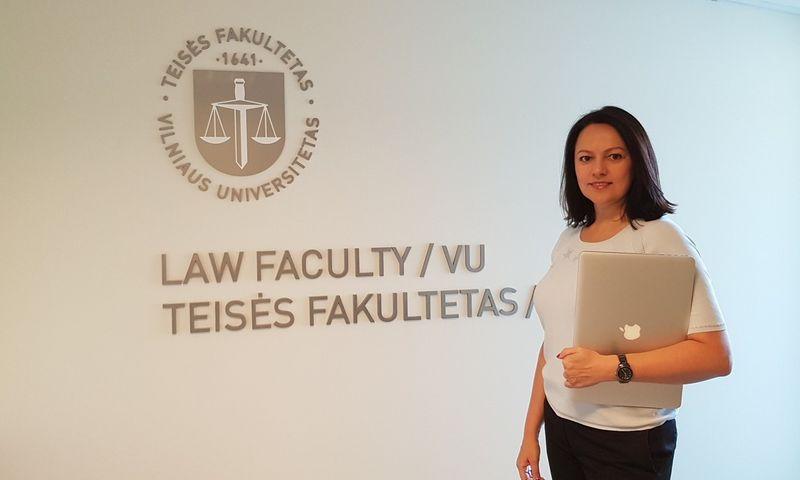 Mentorė Lijana Kanarskienė. Įmonės nuotr.