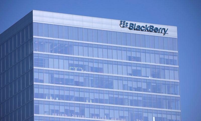 """Blackberry"" būstinė Kalifornijoje. Mike'o Blake'o (""Scanpix"" / ""Reuters"") nuotr."