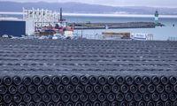 """JAV įspėja dėl naujų sankcijų įmonėms, prisidedančioms prie """"Nord Stream 2"""""""
