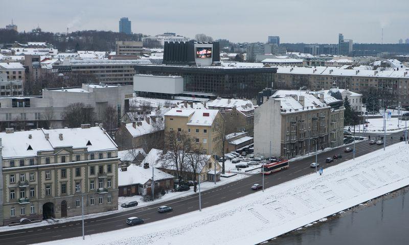 Teritorija Žygimantų g., kur planuojamas daugiabutis. Juditos Grigelytės (VŽ) nuotr.