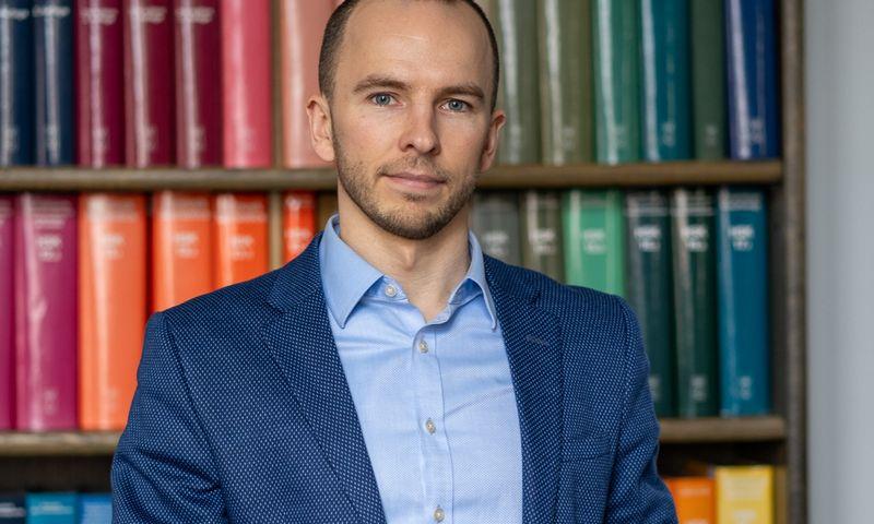 Justinas Noreika, VU fondo direktorius. Edgaro Kurausko nuotr.