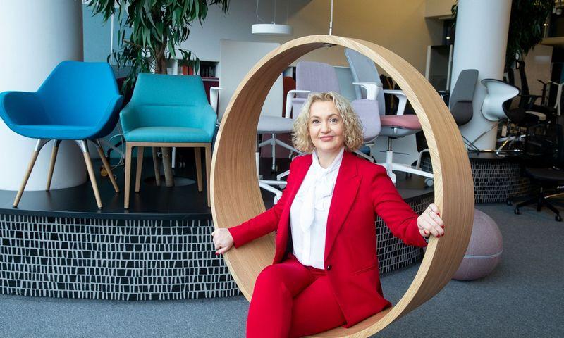 """Vilma Bružienė, """"Ergolain"""" įmonių grupės vadovė. Juditos Grigelytės (VŽ) nuotr."""