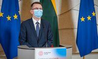 Ministras A. Dulkys: Karantino palengvinimas bus derinamas su kitomis priemonėmis
