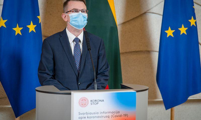 Ministras A. Dulkys. Dariaus Janučio (LRVK) nuotr.
