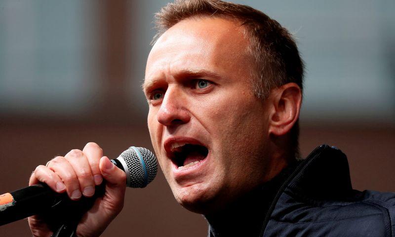 "Aleksejus Navalnas. Shamilo Zhumatovo (""Reuters"" / ""Scanpix"") nuotr."